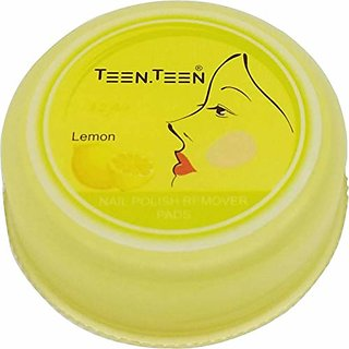 Teen.Teen Nails Polish Remover Pads 32pcs (Lemon)