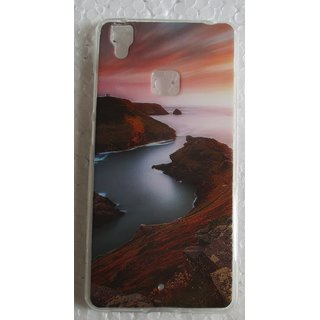 Vivo V3 Soft Silicone Printed Mobile Back Cover Cases