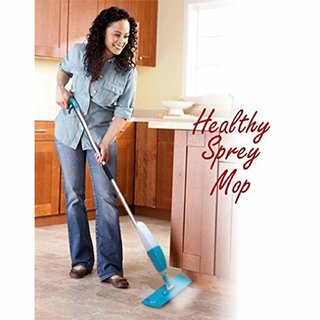 iBubble Healthy Spray Mop for Home Office and Floor Cleaning