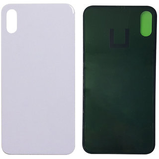New Back Battery Panel (Made of Glass) for Iphone X - White Color