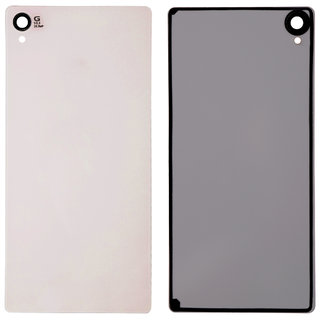 New Back Battery Panel (Made Of Glass) For Sony Xperia Z2 - White Color