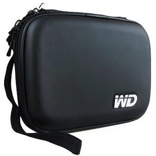 iBubble Shock Proof External Hard Disk Case for WD Elements 2TB USB 3.0 Portable Hard Disk - Black
