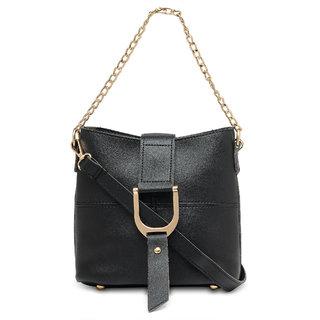 Kielz-Black-Women-Sling-Bag
