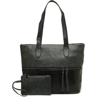 Kielz-Black-Women-Shoulder-Bag