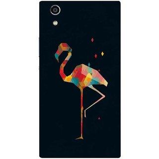 Back Cover for Sony Xperia R1 (Multicolor,flexible,Case)