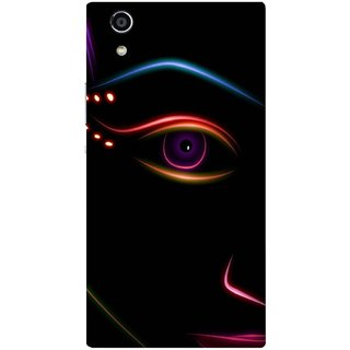 Back Cover for Sony Xperia R1 (Multicolor,flexible,Case)