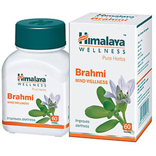 Himalaya Wellness Brahmi Mind Wellness (60 Tablets) PACK OF 4
