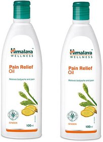 Himalaya Pain Relief Oil 100ml Pack Of 2