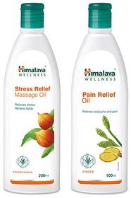 Himalaya Pain Relief Oil And Stress Relief Massage Oil