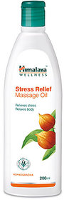 Himalaya Stress Relief Massage Oil 200ml Pack Of 2