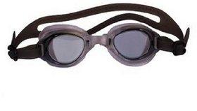 HIPKOO WHIRL ANTI FOG UV PROTECTION Swimming black  (pack of 1)