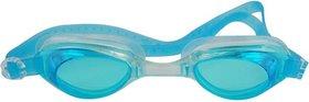 HIPKOO WHIRL ANTI FOG UV PROTECTION Swimming , light blue  (pack of 1)