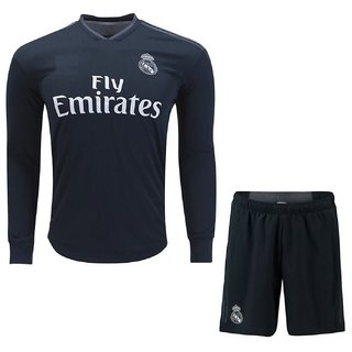 7b4270869d42 Buy IMP Black Stylish Dry Fit Full Sleeve Football Team Jersey Online - Get  31% Off