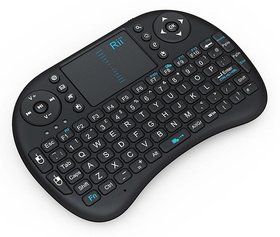Statusbright2.4Ghz Wireless Touchpad Keyboard With Mouse  Bluetooth Tablet Keyboard  (Black)