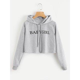 Raabta Grey BABY GIRL Pullover Sweatshirt