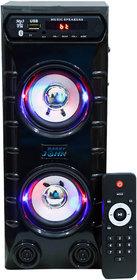BARRY JOHN Mini Bahubali With Bluetooth, Aux  USB, Fm  Mmc 50W Bluetooth 1 Channel Home Audio Speaker