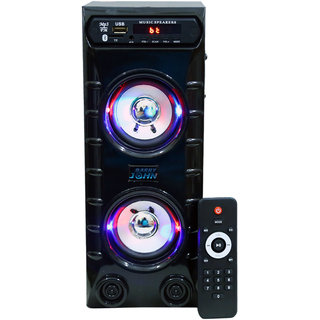 Barry John Mini Bahubali With Aux, Usb, Bluetooth, Fm  Mmc 50W Bluetooth 1.0 Channel  Home Audio Speaker