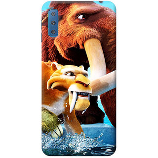 FurnishFantasy Mobile Back Cover for Samsung Galaxy A7 2018 (Product ID - 0807)
