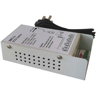 Universe India 4 Channel SMPS for CCTV / Surveillance / Spy Camera, output 12 V DC, power supply adaptor for up to 4 CCTV cameras