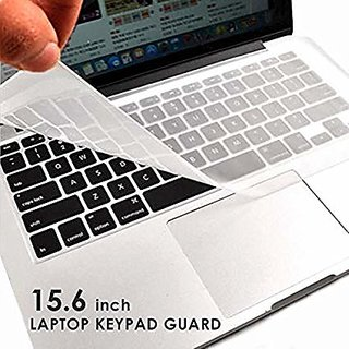 HIPO 15.6 Inch Laptop Keyboard Guard Protector Silicone Skin for Laptop Protect Laptop Keyboard from Dust
