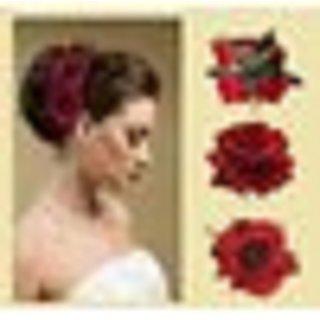 Gulzar Party Wear Combo Flowers Hair Pins / Tic Tac Hair Clip For Bun Maker