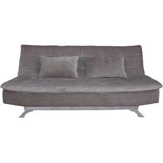 houzzcraft Estilo sofa cum bed in grey