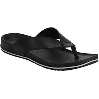 Mens Black Casual Slipper