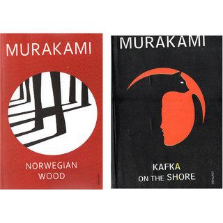 SET OF 2(TWO) BOOKS BY MURAKAMI- KAFA ON SHORE AND NORWEGIAN