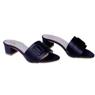 AnShe Girls / Women's Durable Soft Leather Peep Toe  2 inch Block Heel Fashion Sandals / Footwears