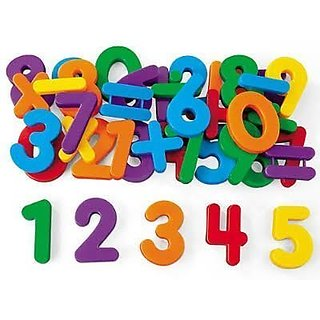Large Size Educational Magnetic Alphabets  Numbers for Kids (Multi Color)