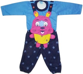 Alif International Dungaree for Baby for 3 Months to 2 Years (Blue)