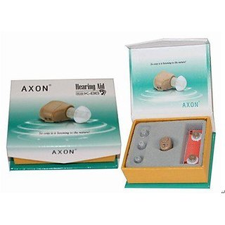 AXON K-86 Mini hearing aid invisible ITE heaing Sound Amplifier