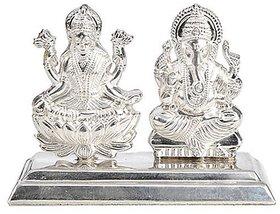 Laxmi Ganesh ji silver 10gm idol 100 original Jaipur Gemstone