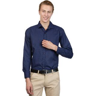29K Fashion Wear Royal Blue Formal Shirts For Mens