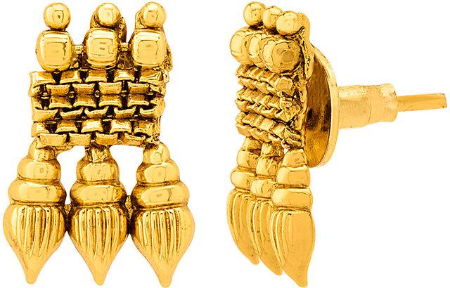 5e407770bd002 Voylla Gracious Gold Plated Sanskriti Necklace Set For Women