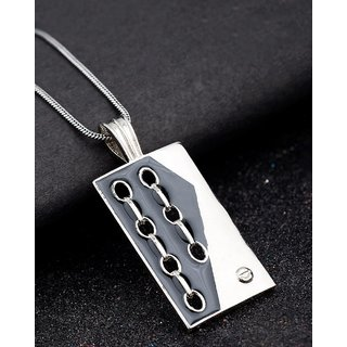 Dare by Voylla  Motor Heads Pendant With Chain For Men