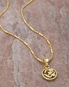 Dare by Voylla OM Pendant With Chain  For Men
