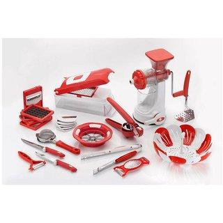 SRK 23pcs Kitchen Utility Combo - Red