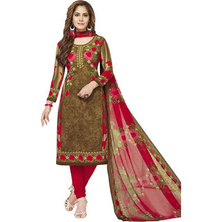 Women Shoppee's Stylish Synthetic Salwar Suit Dupatta - Unstiched Dress Material