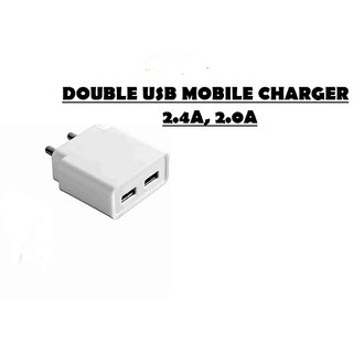 fusion Dual USB Universal Super Fast Charger  for All Android and Smart Phones