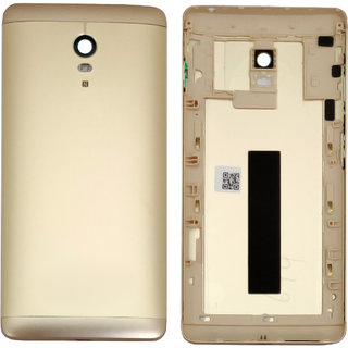 New Housing Body Panel With Camera Lens Cover For Lenovo Vibe P1 - Gold Color