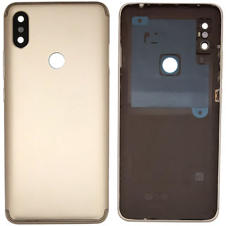 New Housing Body Panel With Camera Lens For Redmi Y2 - Gold Color