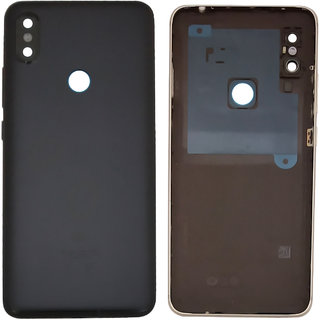 New Housing Body Panel With Camera Lens For Redmi Y2 - Black Color