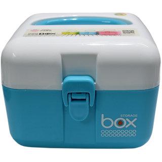 6th Dimensions Medical Storage Box (Blue)
