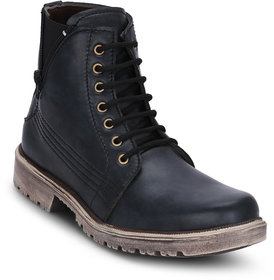 Kielz-Men's-Black-Casual-Boots