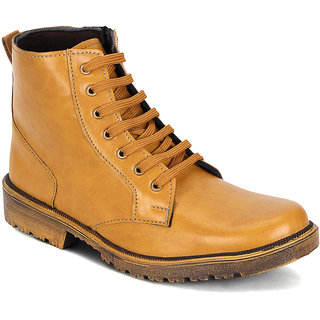 Kielz-Mens-Tan-Casual-Boots