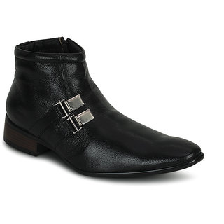 Kielz-Mens-Black-Formal-Boots