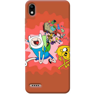 FurnishFantasy Mobile Back Cover for Infinix Smart 2 (Product ID - 0322)