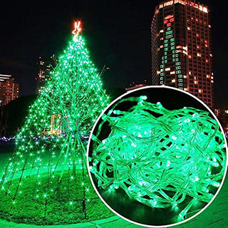 12M 54 LED Colour Green  String Lighting Wedding Fairy Christmas Lights Outdoor Twinkle Christmas tree Decoration Outdoor led Christmas light