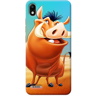 FurnishFantasy Mobile Back Cover for Infinix Smart 2 (Product ID - 0739)